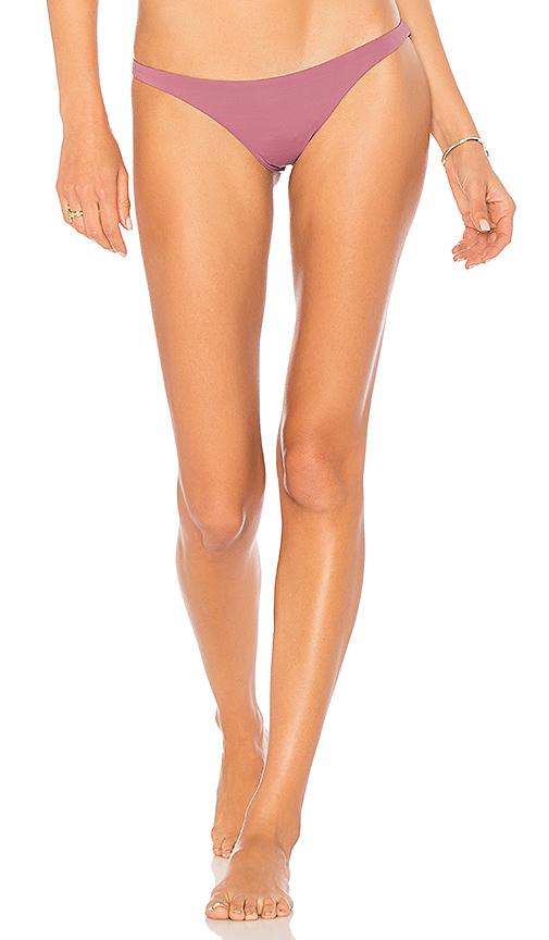 vitamin A Samba Bikini Bottom in Mauve