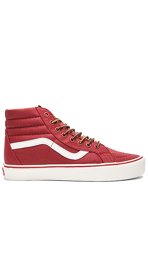 Vans SK8 Hi Reissue Lite in Red. - size 10.5 (also in 9)