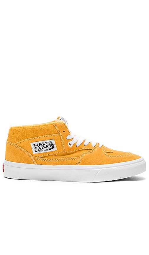 Vans Half Cab in Mustard. - size 10.5 (also in 11)