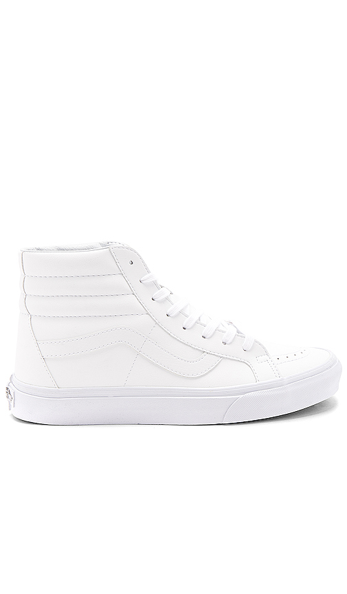 Vans SK8 Hi Reissue in White. - size 10 (also in 10.5,11.5,12,13,7,7.5,8,8.5,9,9.5)