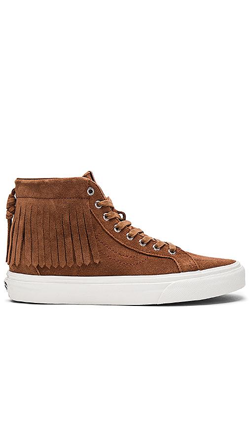 Vans SK8-HI Moc Sneaker in Brown. - size 6 (also in 6.5,7.5)