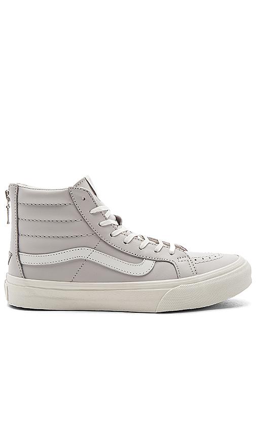 Vans SK8-Hi Slim Zip Sneaker in Lavender. - size 6 (also in 8.5)