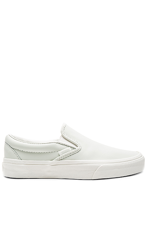 Vans Classic Slip-On Sneaker in Mint