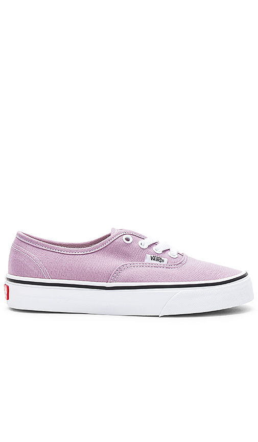 Vans Authentic Sneaker in Lavender