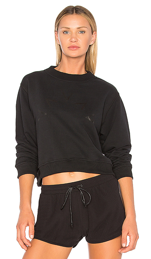 Varley Albata Sweatshirt in Black. - size L (also in M,S,XS)