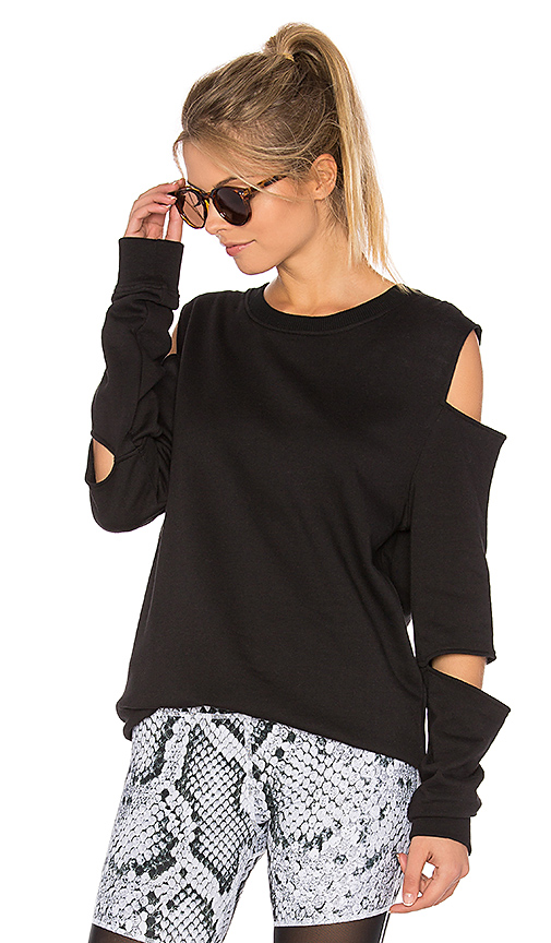 Varley Del Mar Sweatshirt in Black