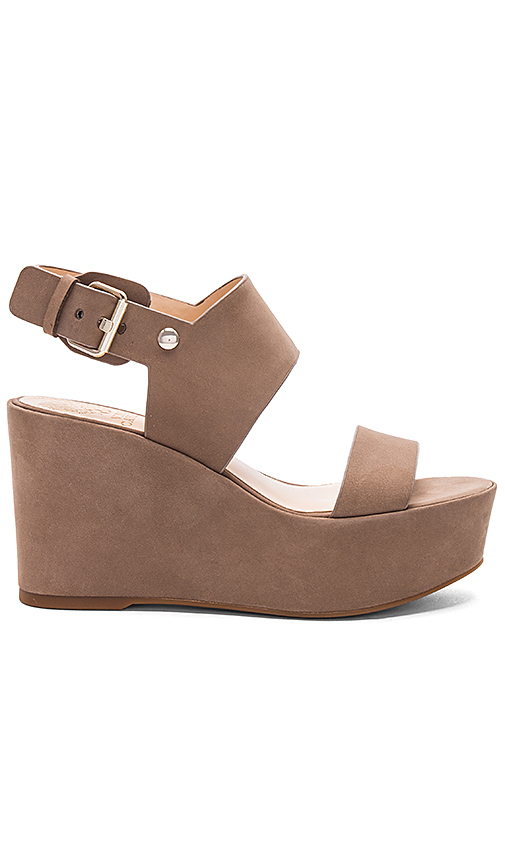 Photo of Vince Camuto Karlan Sandal in Taupe - shop Vince Camuto shoes sales