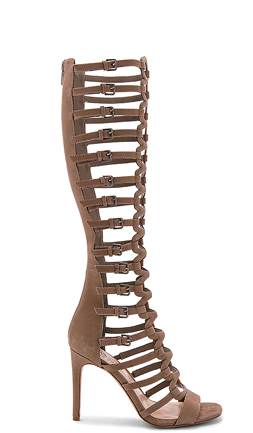 Vince Camuto Chesta Gladiator in Taupe