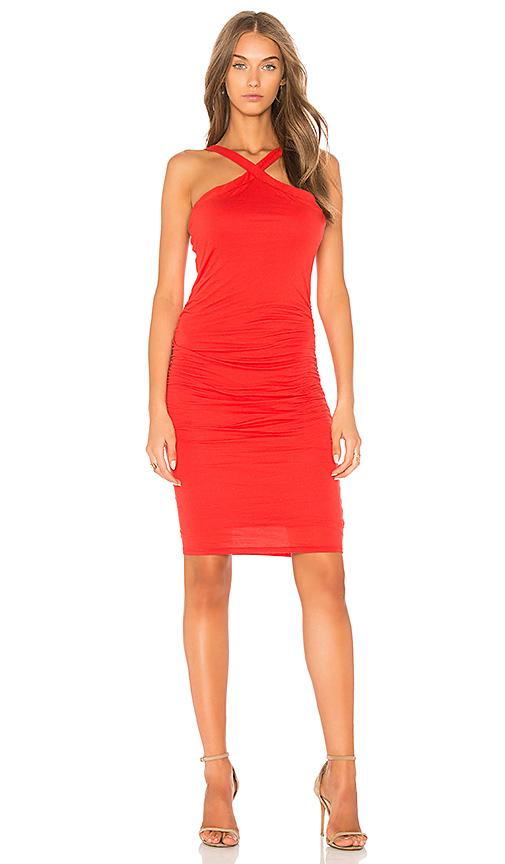Velvet by Graham & Spencer Carmeline Dress in Red