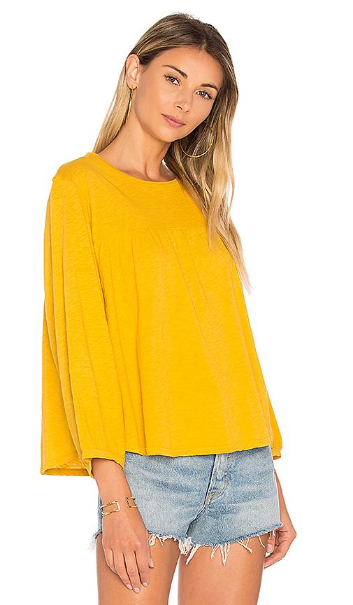 Velvet by Graham & Spencer Winnah Blouse in Yellow