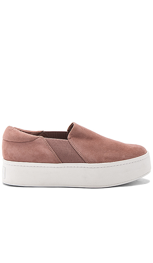 Vince Warren Sneaker in Mauve