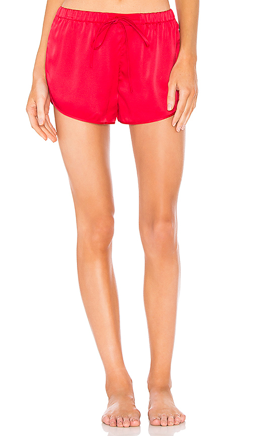 VIOLET & WREN Sports Shorts in Red. - size S (also in L,M)