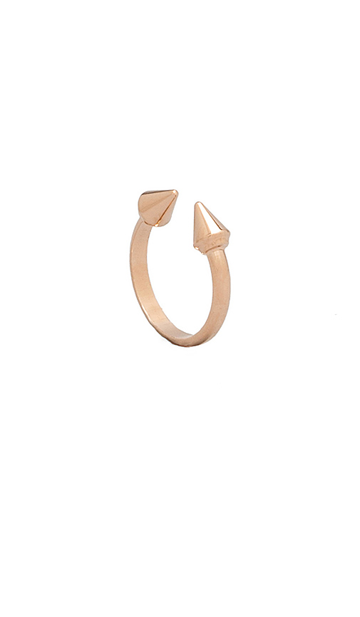 Vita Fede Ultra Midi Mini Titan Ring in Metallic Gold. - size 5 (also in 6,7)