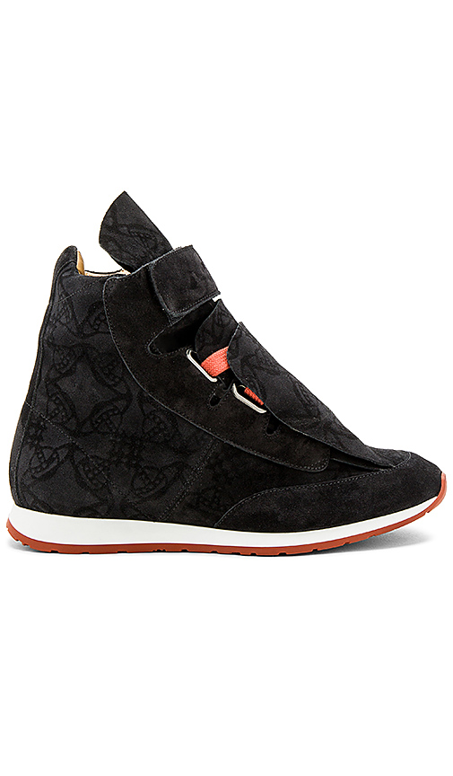 Vivienne Westwood 3 Tongue Trainers in Black. - size 40 (also in 44)