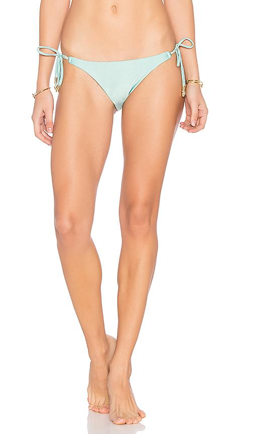 Vix Swimwear Solid Side Tie Bottom in Mint