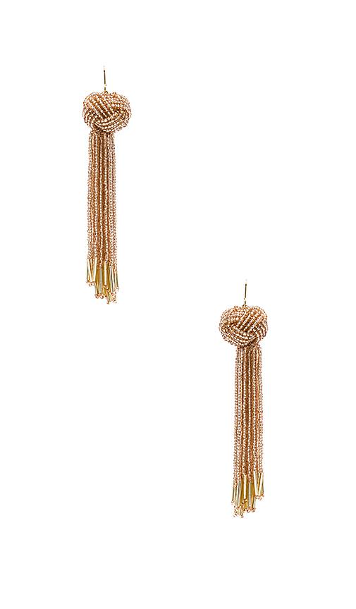 Vanessa Mooney x REVOLVE Darla Earrings in Blush