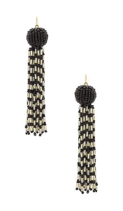 Vanessa Mooney The Antoinette Earrings in Black