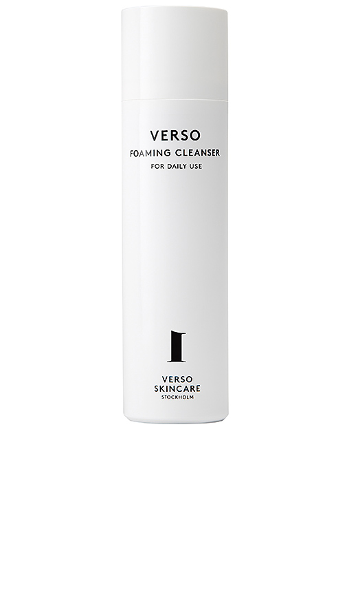 VERSO SKINCARE 1 Foaming Cleanser.