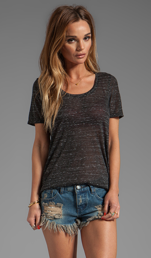 Whetherly Starlight Sloan Tee in Black at Revolve Clothing