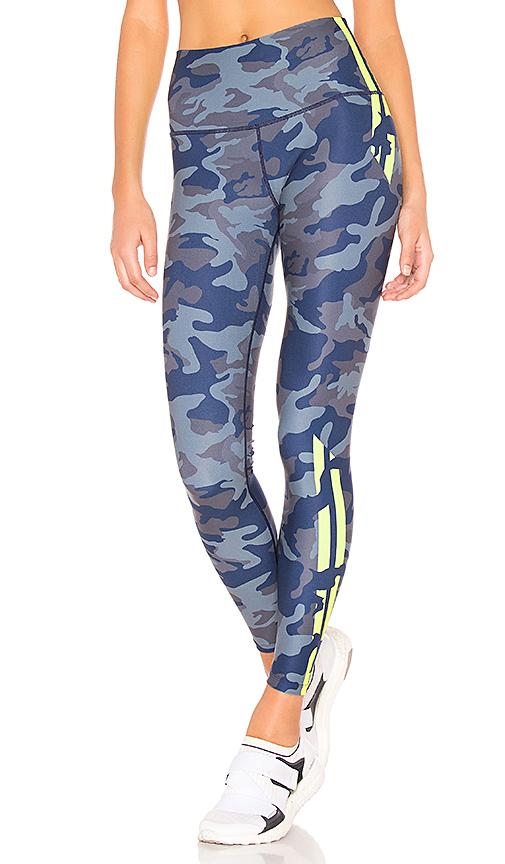 Wear It To Heart High Waist Legging in Blue