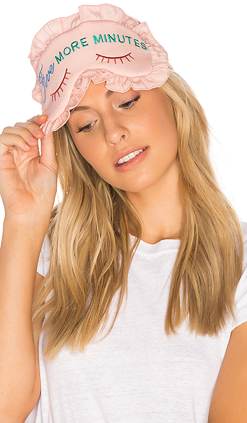 Wildfox Couture Five More Minutes LuLu Eyemask in Pink