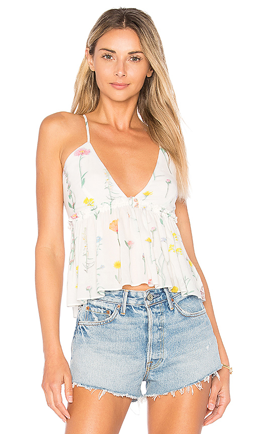 Wildfox Couture Wildflower Top in White