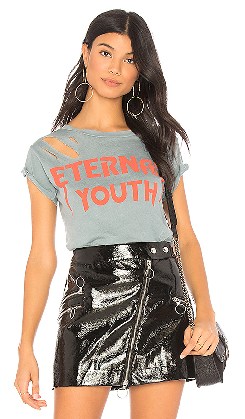 Wildfox Couture Eternal Youth Tee in Blue