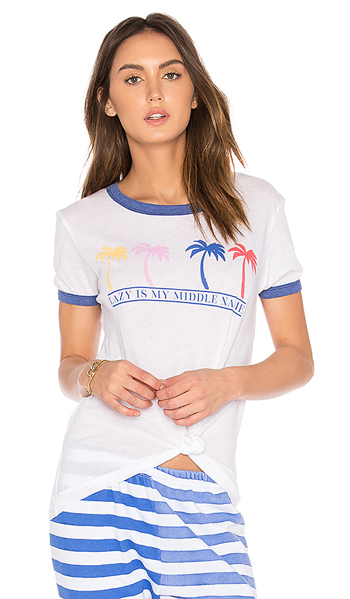 Wildfox Couture Feeling Lazy Tee in White