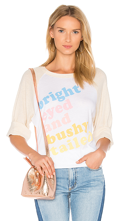 Wildfox Couture Bright Eyed Tee in White