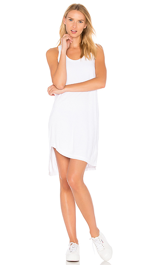 Wilt Slanted Tank Dress in White