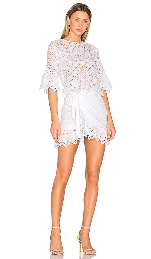 Winona Australia Valerie Wrap Dress in White