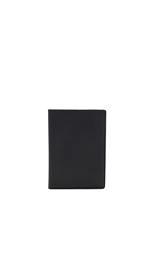 WANT Les Essentiels Pearson Passport Cover in Black.