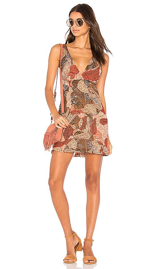 WYLDR Say it Isn't So Dress in Brown