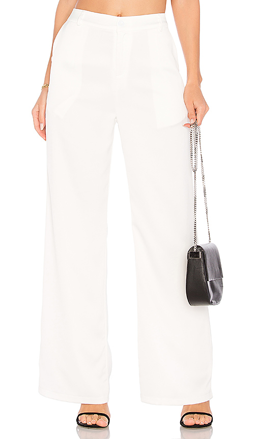 WYLDR Silver Lining Trousers in Ivory. - size L (also in M,S,XS)