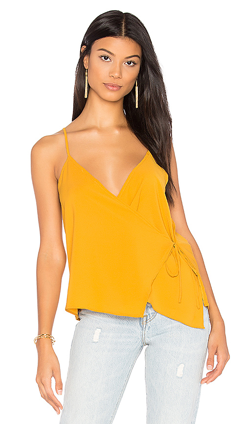 WYLDR Cross Back Tank in Yellow. - size L (also in M,S,XS)