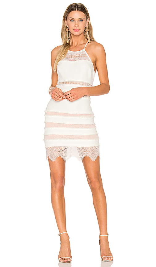 X by NBD Sawyer Dress in White