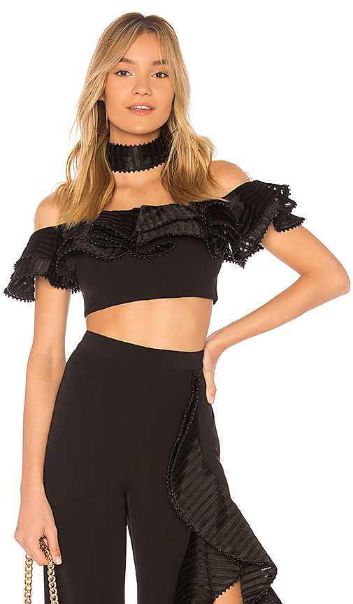 X by NBD x REVOLVE Sylvie Top in Black