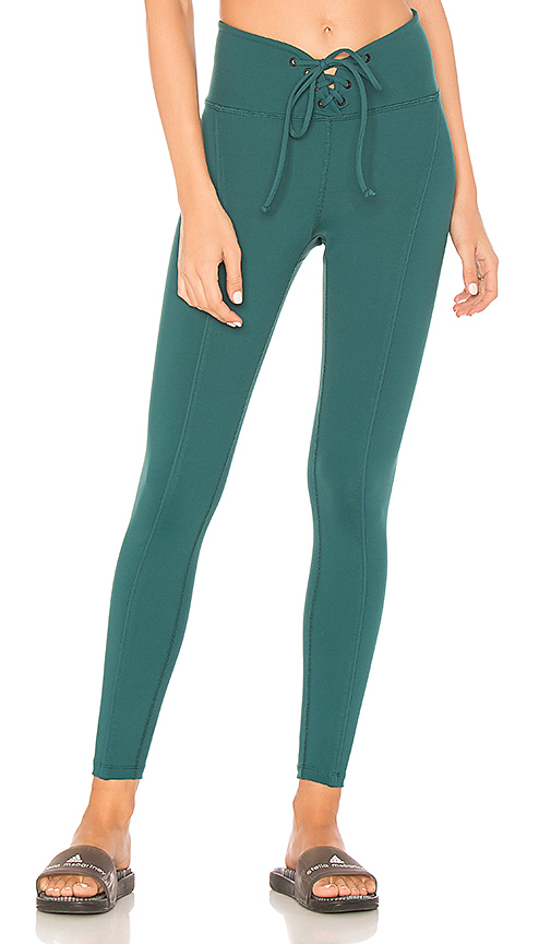 YEAR OF OURS Football Legging in Green. - size XS (also in L,M,S)