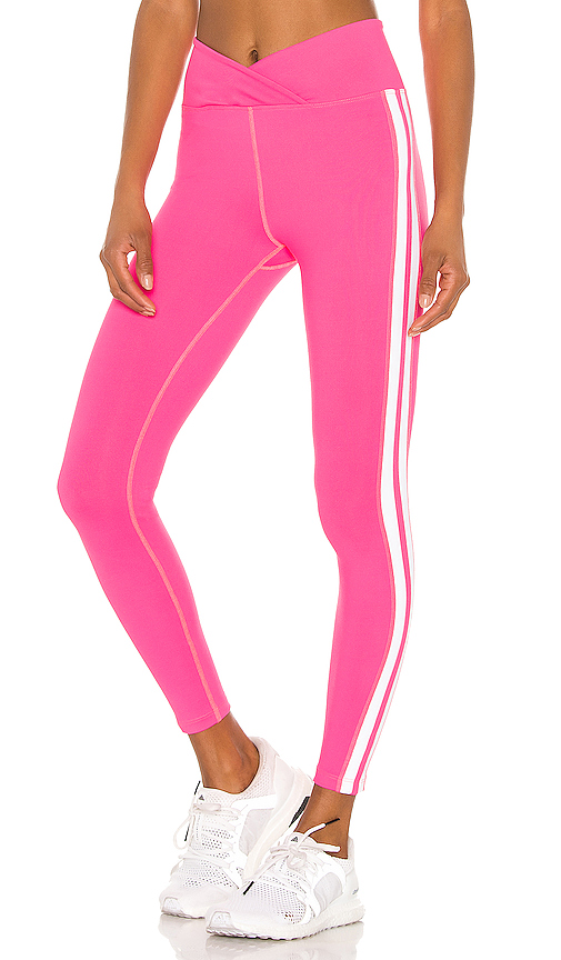 YEAR OF OURS Racer Legging in Pink. - size M (also in L,S,XS)