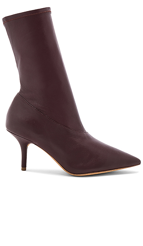 YEEZY Season 5 Ankle Bootie in Burgundy. - size 36.5 (also in 36,37,37.5,38,38.5,39,39.5,40)