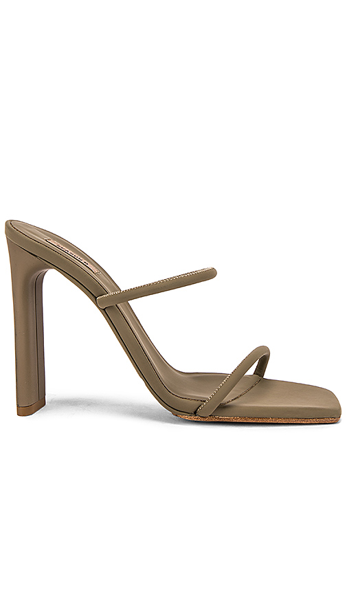 YEEZY SEASON 8 Minimal Sandal in Olive