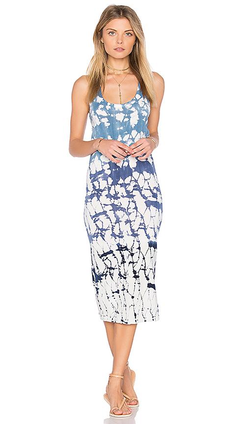 Young Fabulous & Broke Denny Dress in Blue