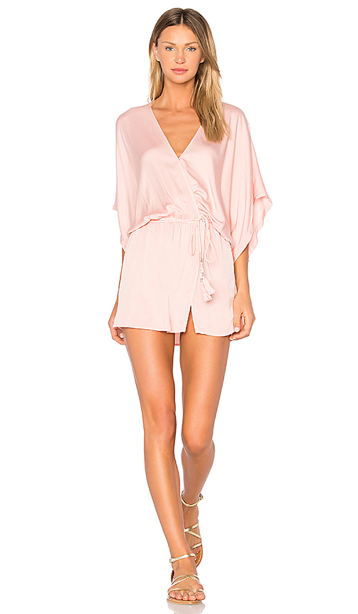 Young, Fabulous & Broke Viv Dress in Rose