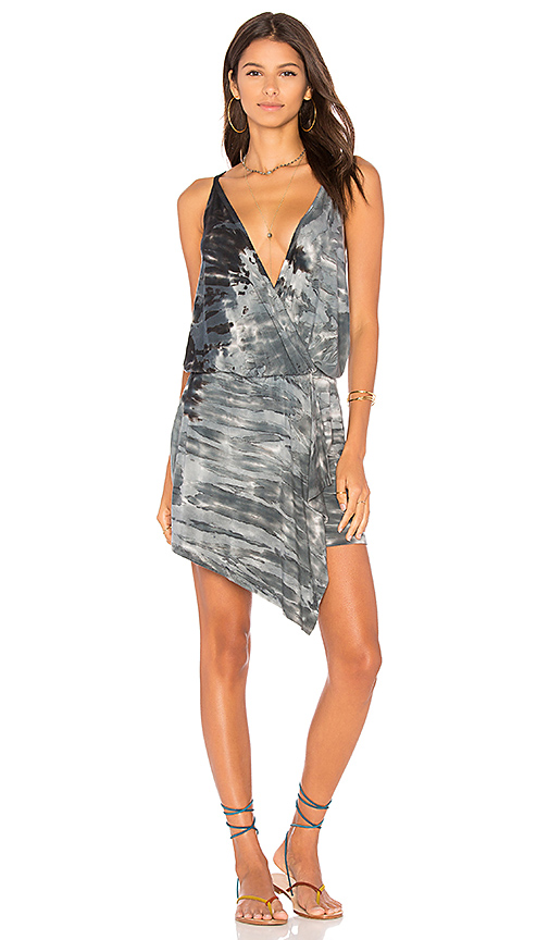 Young, Fabulous & Broke Aden Dress in Charcoal
