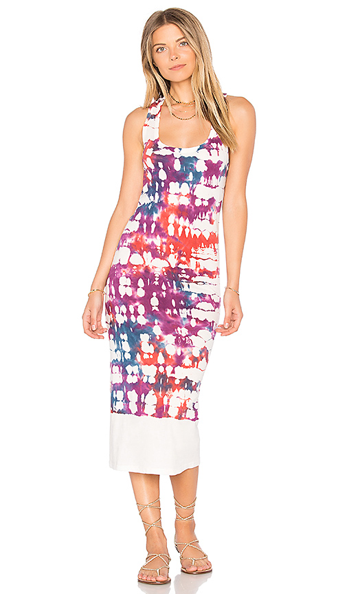 Young Fabulous & Broke Denny Dress in White