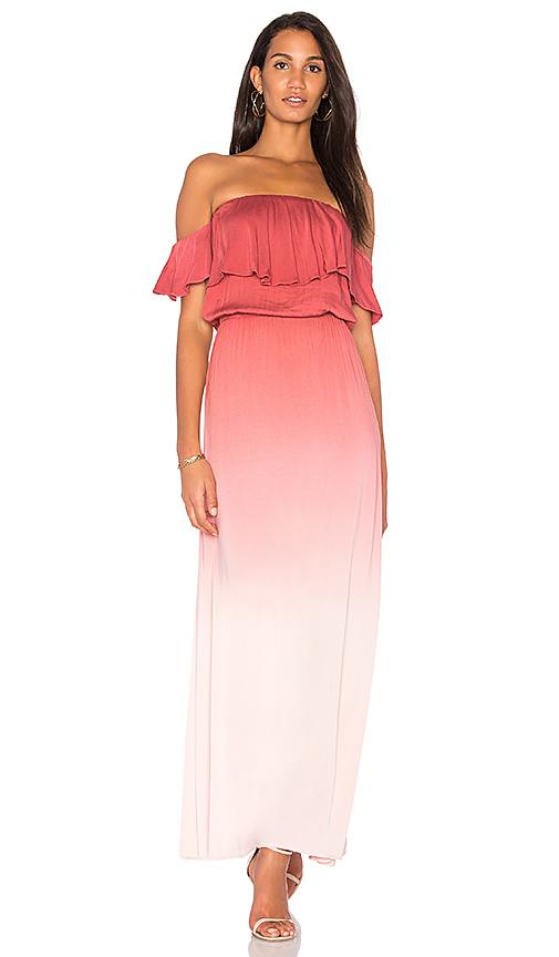Young Fabulous & Broke Ayana Dress in Rust