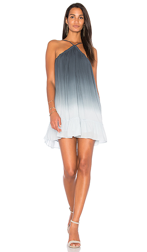 Young Fabulous & Broke Lissa Dress in Blue