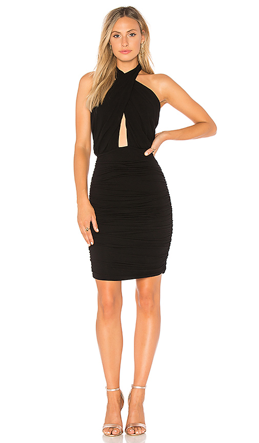 Young, Fabulous & Broke Tila Dress in Black