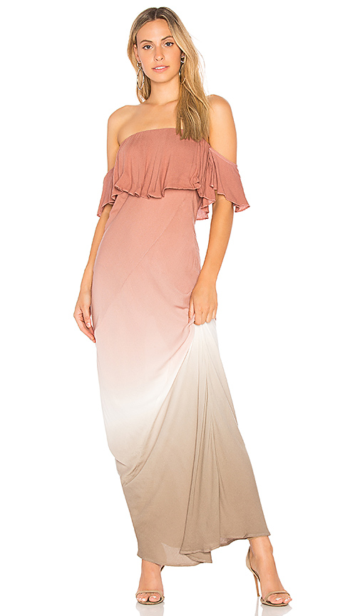 Young Fabulous & Broke Nell Maxi Dress in Mauve