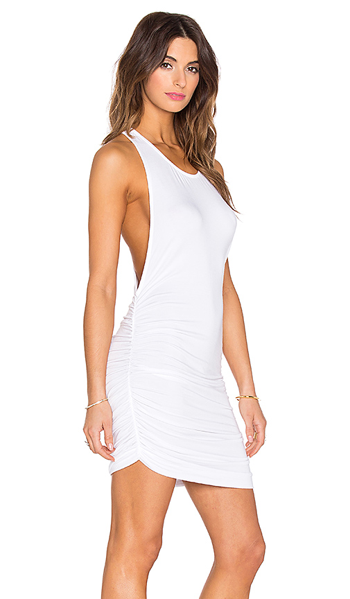 Young Fabulous & Broke Rocky Dress in White